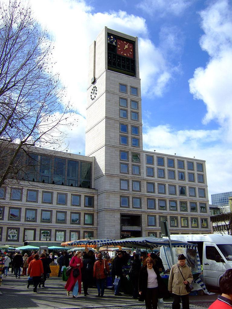 Rathaus Stuttgart en Marktplatz