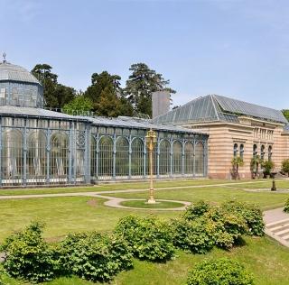 Invernadero del Jardín Botánico Wilhelma -  autor