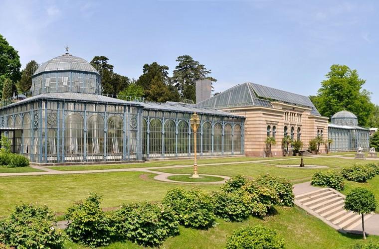 Invernadero del Jardín Botánico Wilhelma