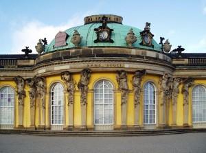 Palacio de Sanssouci  fuente