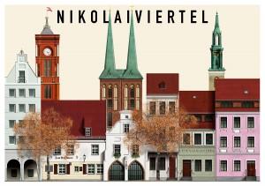 Ilustración de Nikolaiviertel