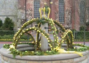 Haselünne Osterbrunnen