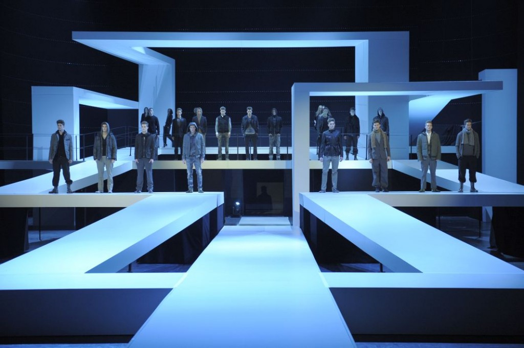 Alemania en enero guia de alemania - Fashion show stage design architecture plans ...
