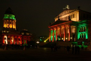 Gendarmenmarkt berlin festival of lights