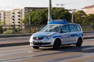 La policía de Berlín