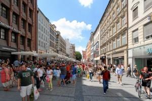 Kaufingerstraße, calle comercial en Múnich