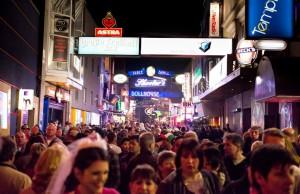 Vida nocturna en Hamburgo