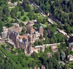 Heidelberg vista de arriba
