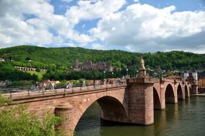 Castillo Heidelberg y el puente viejo