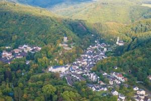 Vista panorámica del Valle Rin