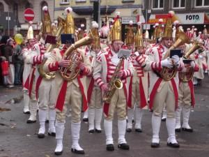 Músicos del Carnaval de Colonia