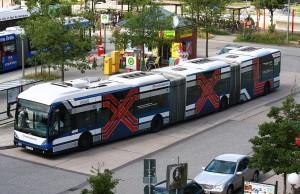 Autobuses en Hamburgo