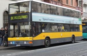 Autobuses en Frankfurt