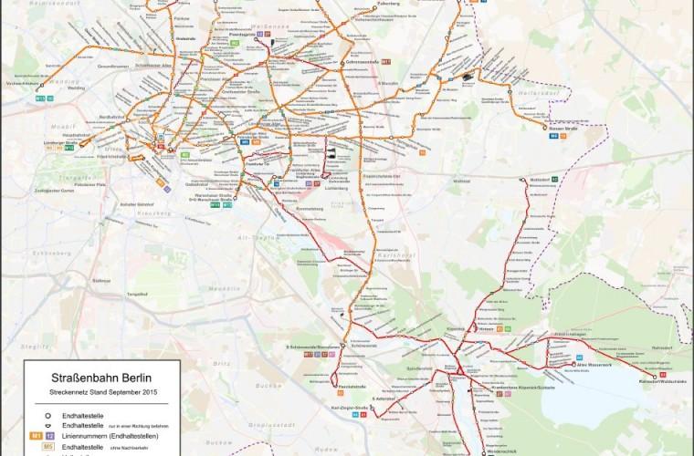 mapa de berlin y alrededores